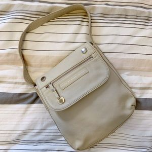 Marc by Marc Jacobs Leather Cream Shoulder Bag